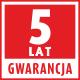 Gaśnica 5 lat gwarancji
