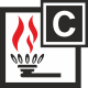 Gaśnica do grupy pożarów C (gazy)
