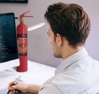 Gaśnica śniegowa do komputera