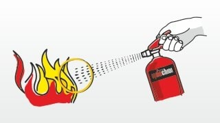 Jak używać gaśnicy